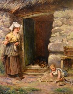 "Oil Painting by Alexander Davidson ""Morning Sunshine"""