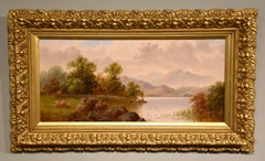 "Oil Painting by Daniel H. Winder ""A Quiet Spot for Fishing"""