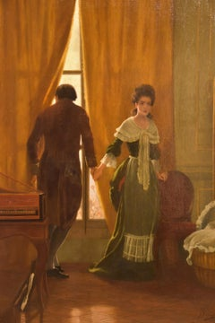 """""""An Incident In The French Revolution"""" Oil Painting by Arthur Beckingham"""