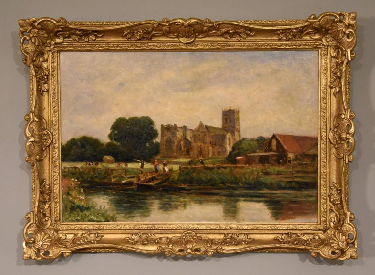 """""""Christchurch, Hampshire"""" by Arthur George Bell  For Sale 2"""
