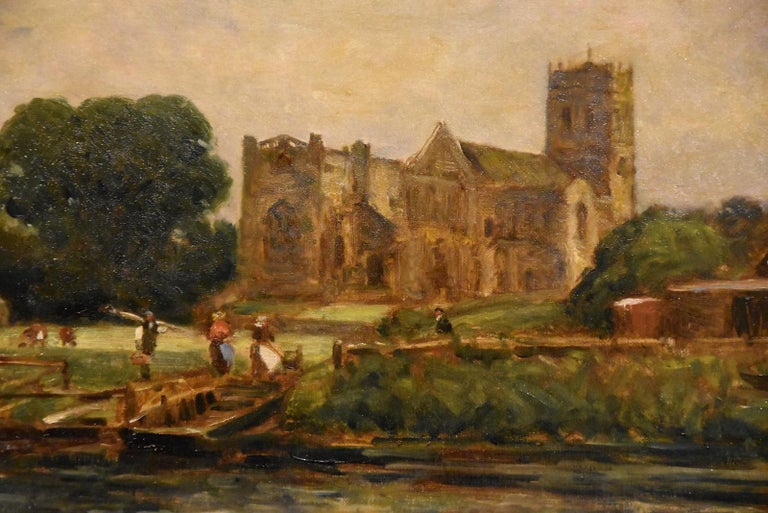 """""""Christchurch, Hampshire"""" by Arthur George Bell  For Sale 3"""