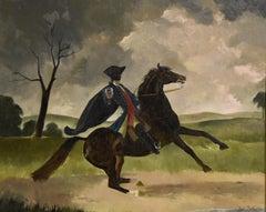 "Oil Painting Doris Zinkeisen ""Dick Turpin"""