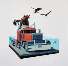 Goliath by Josh Keyes, Contemporary Street Art Print