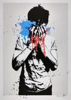Tear Gas, Nafir, Iranian Activism Street Art Print