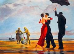 "Mason Storm ""Toxic Beach"" X Banksy Fine Art Print Street Contemporary Crude Oils"
