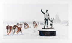 A Whole New World, Josh Keyes Street Art Print from Banksy Dismaland