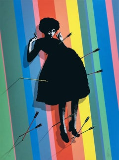 Baby Shot Me Down by Eelus, Contemporary Street Art Print