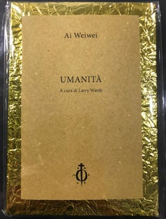 Ai Weiwei - Humanity - Artist's Book - Signed & Numbered Limited Edition Of 200