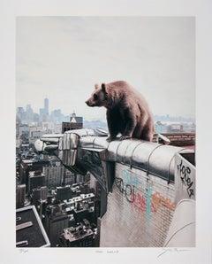 Mad World, Josh Keyes, Contemporary Street Art Print