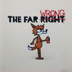 Far Wrong, Mau Mau Contemporary Street Art Print