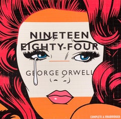 Ben Frost George Orwell 1984 Blotter Paper Signed & Numbered Street Art Acid