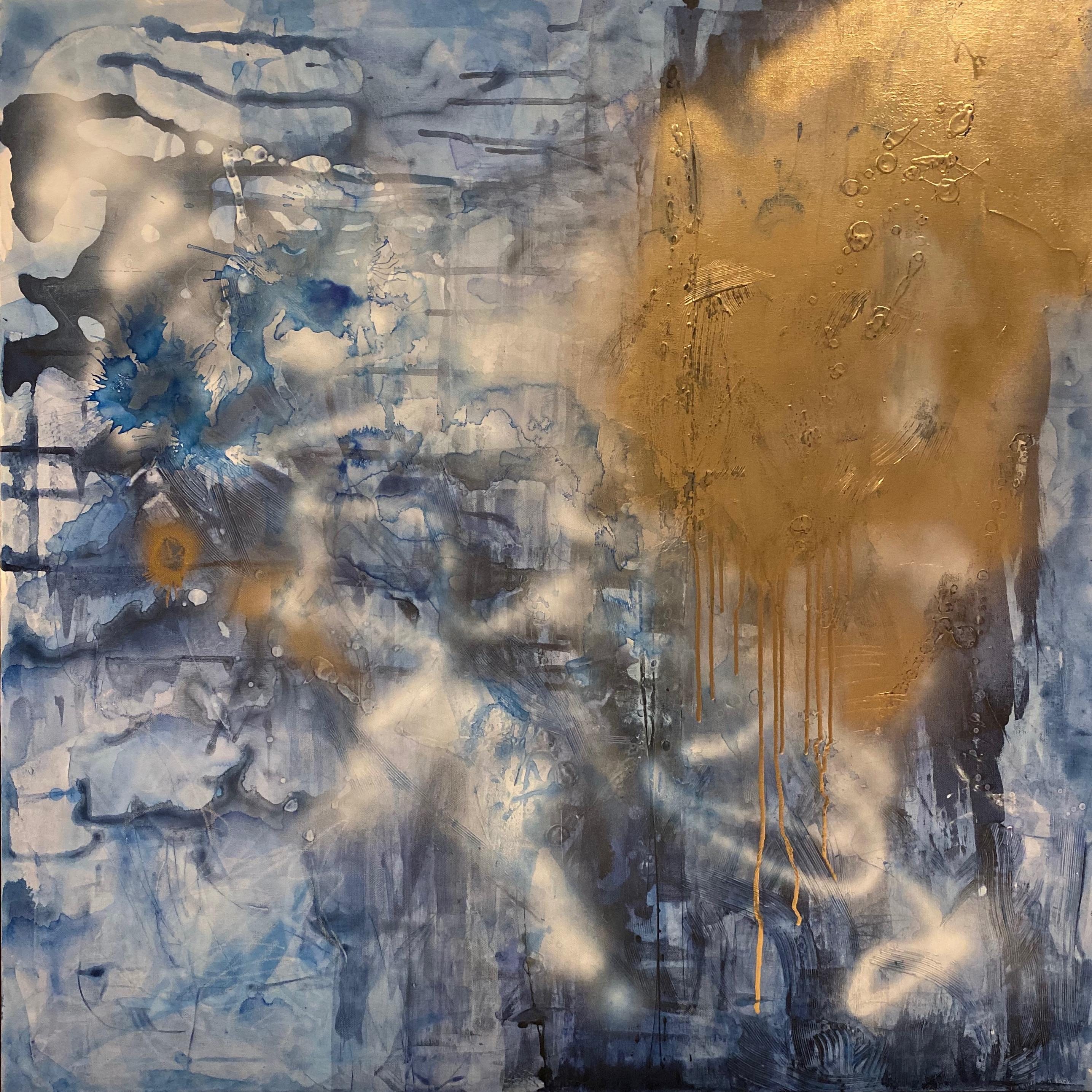 Suburban Vandal, 2020, Mixed Media on Canvas, Signed