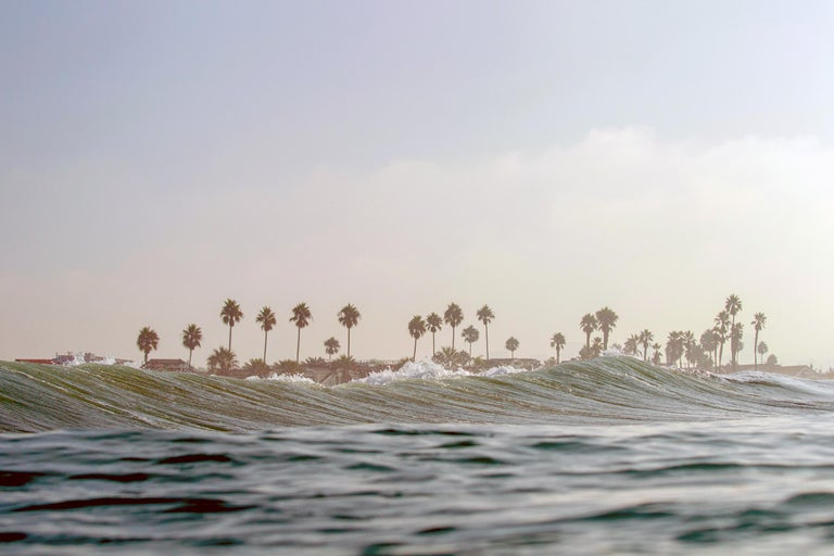 Jonathan Spector  Color Photograph - Lost In Paradise, Oceanscape Fine Art Photography, Framed in Plexiglass, Signed