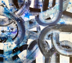 Unbroken, 2020, Mixed Media, Abstract Painting on Canvas, Signed