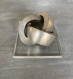 Small Ring of Kerry, 2011, nickel silver, sculpture, knot, contemporary
