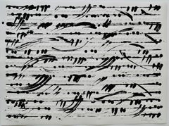 optical score, 2014, Lithography, embossed print, handmade paper, music