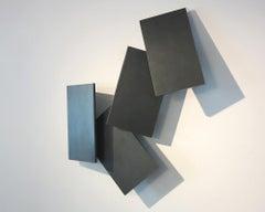 Cartes murales, 2018, steel sculpture, abstract, minimalism,