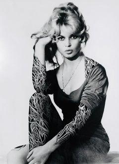 Brigitte Bardot, 2014, Ink-drawing, printed paper, female, body art, tattoo,