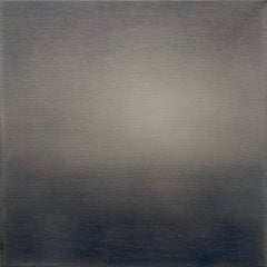 untitled, 2016, oil, canvas, abstract, gray monochrom, Scandinavian art
