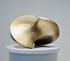 Moving sculpture, 2007, Bronze,  sculpture, contemporary, rolling body