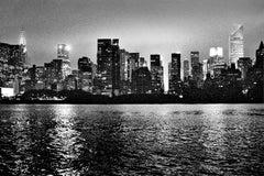 Manhattan, Analog Photography, C-Print, black and white