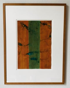 untitled, 1996, gouache on light cardboard, abstract minimalism