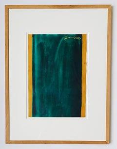 untitled, 1996, gouache on light cardboard, abstract minimalism