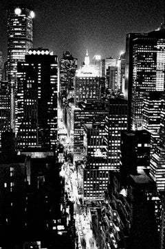 Manhattan, Analog Photography, C-Print, black and white