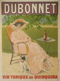 """""""Dubonnet"""" Original Antique Beverage Poster, 1908"""