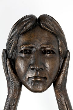 Liberdade supensa, Pedro Figueiredo, 2020, Contemporary Art, Bronze sculpture