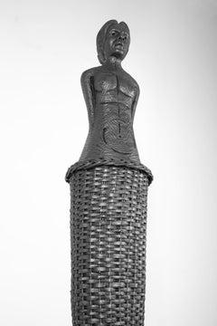 Simbiose, Pedro Figueiredo, 2020, Contemporary, Polyester metal wicker sculpture