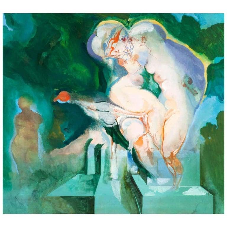 """Heinrich Richter """"#50"""", 1969 - Painting by Heinrich Richter"""