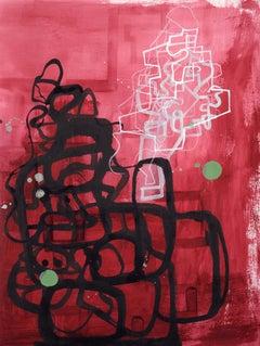 "Maryanne Pollock ""Alizarin Maze lll"""