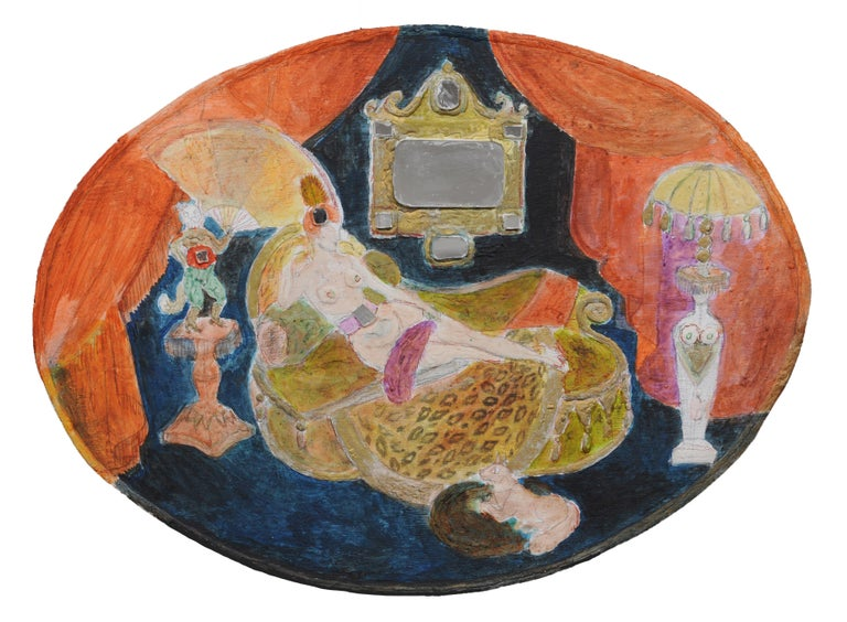 """Noche Crist """"Madame Pompadour"""" - Painting by Noche Crist"""