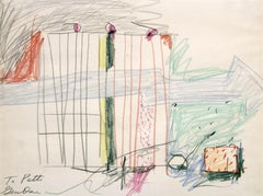 Colour-Field Drawings and Watercolour Paintings
