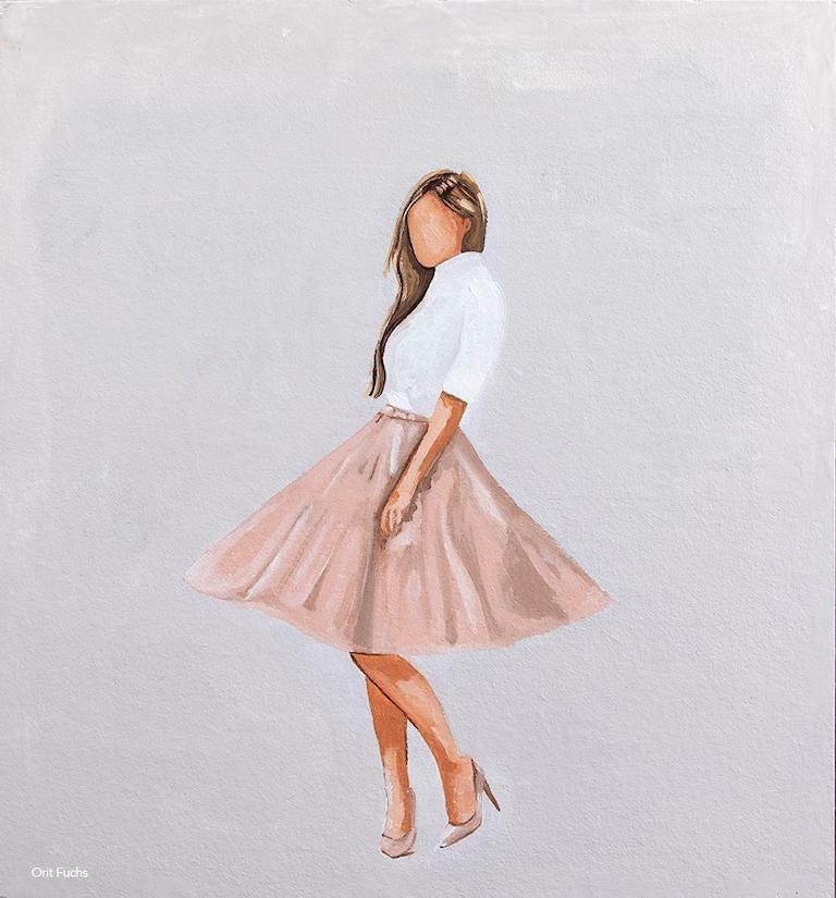 Orit Fuchs Figurative Painting - SGIATH-3