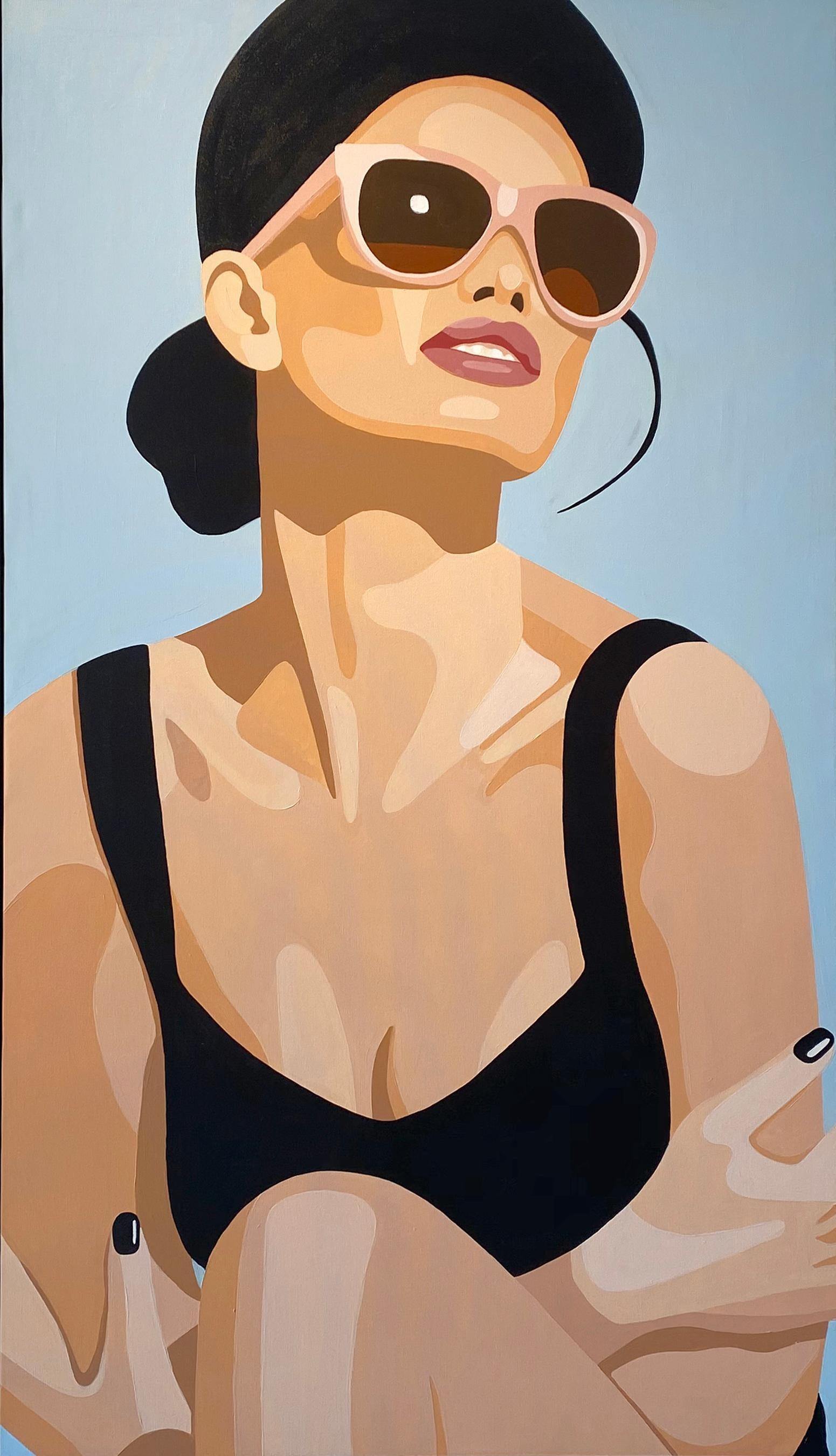 Vivid 89, 2020, Oil and Acrylic on canvas
