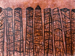 Cityscape #1, urban architectural abstraction