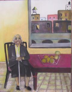 Gravesend  urban  kitchen interior  brooklyn subject  elderly female subject