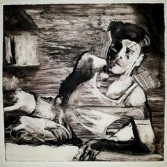 Killers 3, dramatic, black and white, narrative