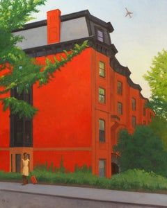 Sixth Avenue & St. John, realistic urban architecture and street scene