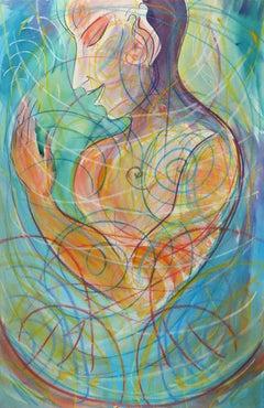 How To Listen, colorful spiritual figure