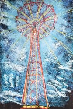 Parachute Jump, Shooting Rays, Coney Island
