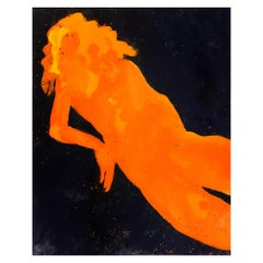 The Birth Of Venus contemp,21st Cent.Figurative painting,oil&glaze medium/canvas