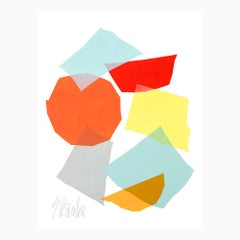 """Kite""  Modern, Mid Century, Contemporary Fine Art Print"