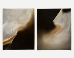 Untitled Work of Fire Diptych