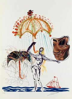 Title: Anti-Umbrella w/ Atomized Liquid (Imagination & Objects of the Future)