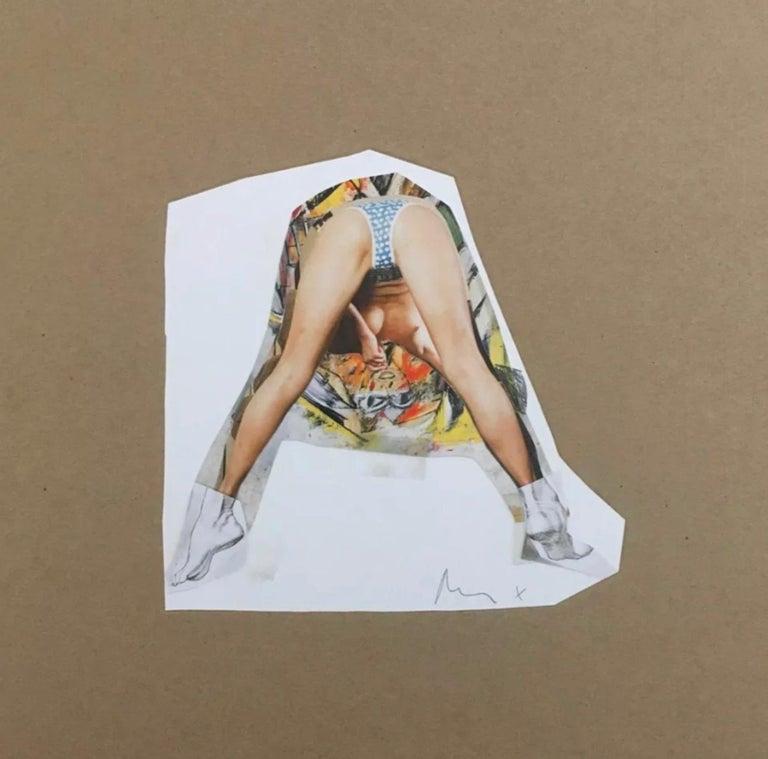 Richard Prince Figurative Print - Untitled (de Kooning)