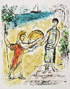 Athena & Telemachus (The Odyssey Portfolio)
