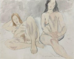 1980s Nude Drawings and Watercolours